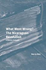 What Went Wrong? the Nicaraguan Revolution (Historical Materialism Book)