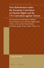 Non-refoulement Under the European Convention on Human Rights and the Un Convention Against Torture (International Refugee Law)