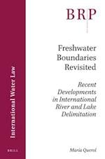 Freshwater Boundaries Revisited (Brill Research Perspectives)