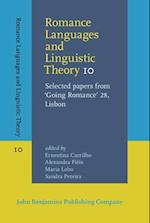 Romance Languages and Linguistic Theory 10 (Romance Languages and Linguistic Theory, nr. 10)