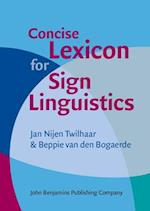 Concise Lexicon for Sign Linguistics