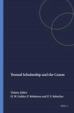 Textual Scholarship and the Canon (Variants S, nr. 7)