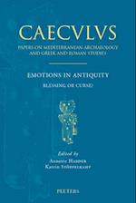 Emotions in Antiquity (Caeculus Papers on Mediterranean Archaeology and Greek Ro, nr. 9)