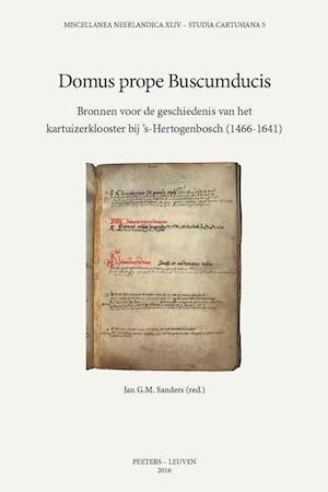 Bog, paperback Domus Prope Buscumducis