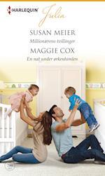 Millionærens tvillinger /En nat under ørkenhimlen af Susan Meier, Maggie Cox