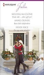 Vind, tab? eller gift jer!/Bare lidt tidsfordriv/En uge som jetsetter af Heidi Rice, Anne Oliver, Melissa McClone