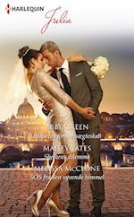 Fonsecas fornuftsægteskab /Sheikens dilemma/SOS fra den syvende himmel af Abby Green, Maisey Yates, Melissa McClone