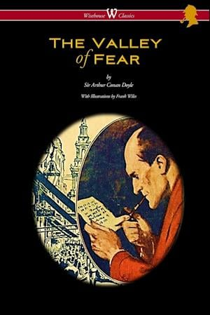 Bog, paperback The Valley of Fear (Wisehouse Classics Edition - With Original Illustrations by Frank Wiles) af Arthur Conan Doyle