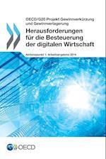Herausforderungen Fur Die Besteuerung Der Digitalen Wirtschaft