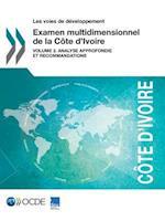 Les Voies de Developpement Examen Multidimensionnel de La Cote D'Ivoire