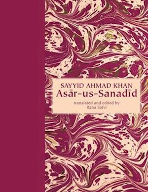 Bog, hardback Asar-Us-Sanadid af Syed Ahmed Khan