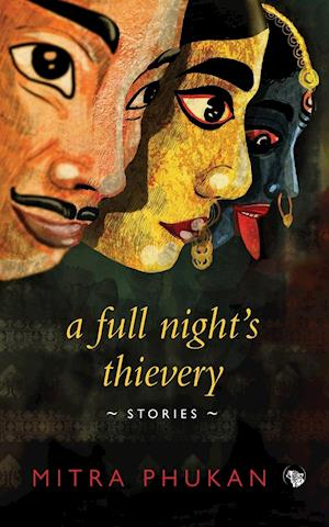 Bog, paperback A Full Night's Thievery af Mitra Phukan