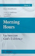 Morning Hours af Daniel O Dahlstrom, Moses Mendelssohn, Corey Dyck
