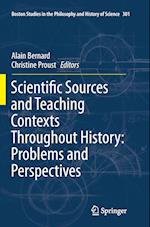 Scientific Sources and Teaching Contexts Throughout History (Boston Studies in the Philosophy and History of Science, nr. 301)