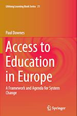 Access to Education in Europe (Lifelong Learning Book Series, nr. 21)