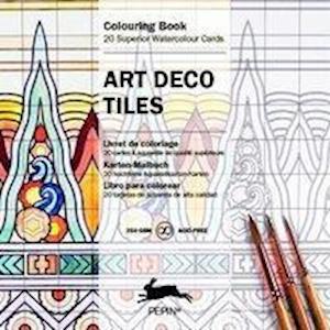 Bog, paperback Art Deco Tiles af Pepin Van Roojen