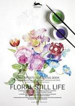 Floral Still Life (Giant Artists Colouring Books)