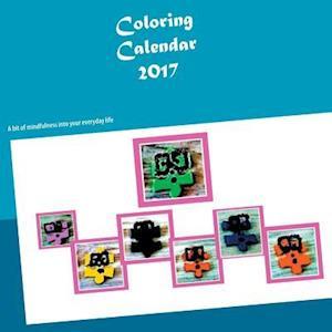 Bog, paperback Coloring Calendar 2017 af Sanna Makinen