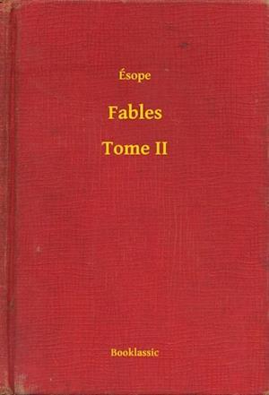 Fables - Tome II af Esope