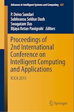 Proceedings of 2nd International Conference on Intelligent Computing and Applications (Advances in Intelligent Systems and Computing, nr. 467)