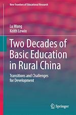 Two Decades of Basic Education in Rural China (New Frontiers of Educational Research)