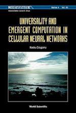 Universality and Emergent Computation in Cellular Neural Networks af Radu Dogaru