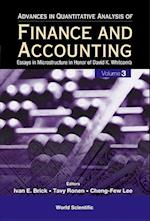 Advances in Quantitative Analysis of Finance and Accounting af Ivan E. Brick