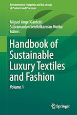 Handbook of Sustainable Luxury Textiles and Fashion af Miguel Angel Gardetti