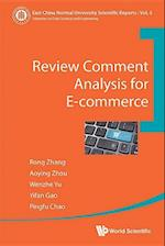Review Comment Analysis for E-Commerce (East China Normal University Scientific Reports, nr. 5)