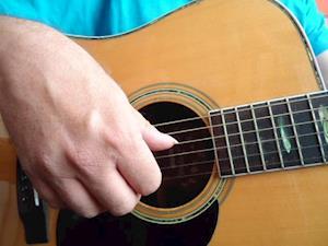 Start på fingerpicking guitar af Mogens Sørensen